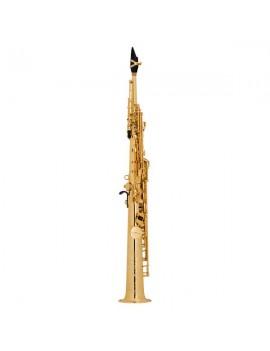 Saxo Soprano SA80/II JUBILE Goldmessing Grabado GG