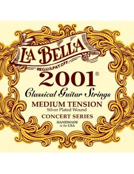 JUEGO CUERDAS LA BELLA 2001...