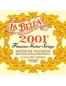 JUEGO CUERDAS LA BELLA 2001