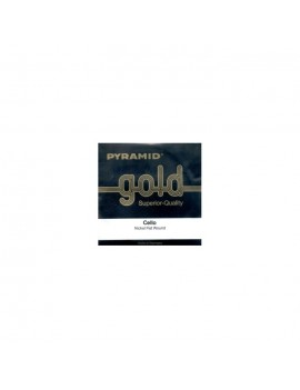 CUERDA PYRAMID GOLD CELLO 2ª