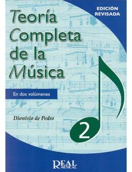 TEORIA COMPLETA DE LA MÚSICA VOL.2º