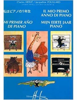 MI PRIMER AÑO DE PIANO
